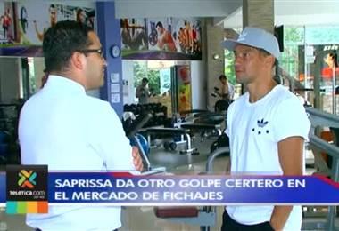 Christian Bolaños es desde hoy la nueva figura del Deportivo Saprissa