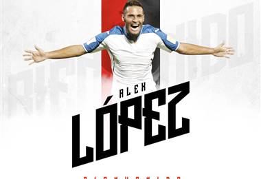Alexander López, nuevo jugador de Alajuelense.|lda.cr