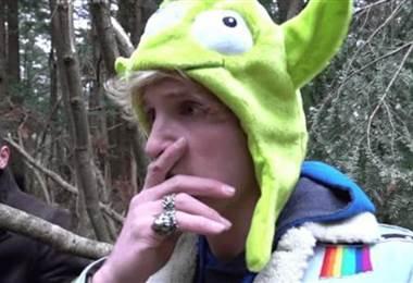 Estadounidense Logan Paul, estrella de YouTube