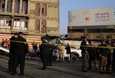 Al menos 31 muertos en un doble atentado suicida en el centro de Bagdad