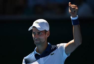 Novak Djokovic, tenista serbio.