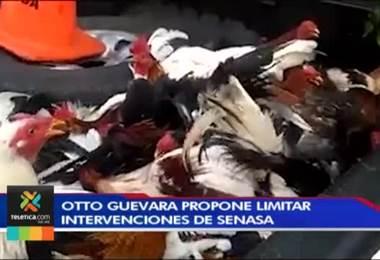 Otto Guevara propone limitar las intervenciones de Senasa