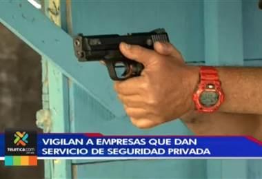 Ministerio de Seguridad pide a empresas de vigilancia privada estar al día con sus permisos