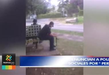 """Seguridad Pública analiza video que circula en redes sociales donde policías """"pierden el tiempo"""""""