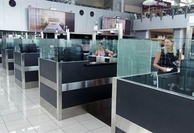 Puestos de Migración en el Aeropuerto Internacional Juan Santamaría