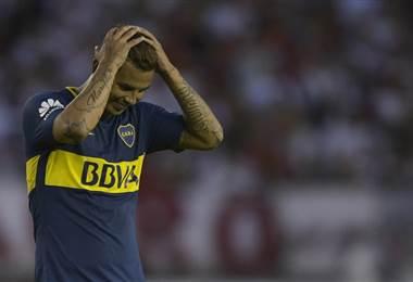 Edwin Cardona, Boca Juniors.|AFP