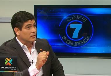 Café Política: Candidato Carlos Alvarado Quesada