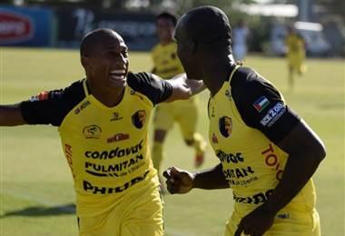 Liberia celebró su primera victoria del torneo ante Limón.