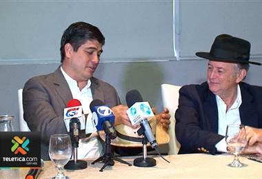 Ottón Solís anunció apoyo a candidatura de Carlos Alvarado