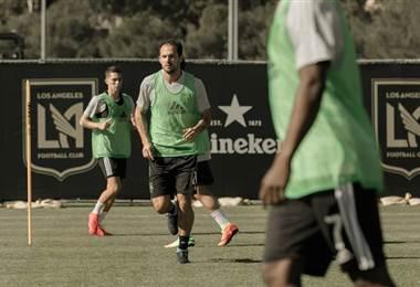 Marco Ureña se estrenará con la camiseta del Los Ángeles FC.