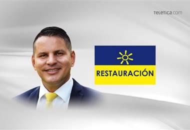 Candidato a la presidencia por el Partido Restauración Nacional