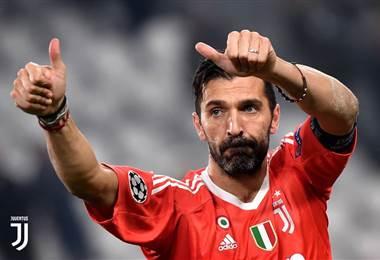 Gianluigi Buffon, portero de la Juventus de Turín.