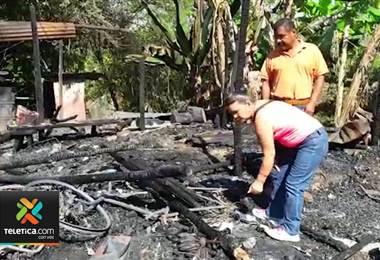 Hombre que quemó casa de adultos en Osa