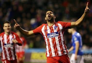 Diego Costa, jugador del Atlético de Madrid.|Atlético de Madrid en Facebook