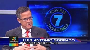 Café Política: Antonio Sobrado, presidente Tribunal Supremo de Elecciones