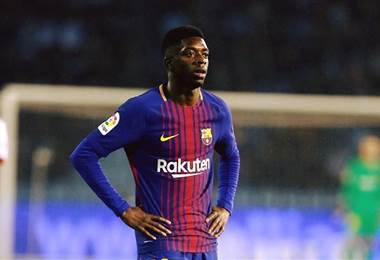 Dembelé, jugador del Barcelona.|FC Barcelona