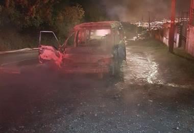 Comparsa vivió minutos de terror en incendio en Tarbaca