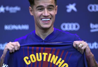 Philippe Coutinho, jugador del Barcelona. AFP