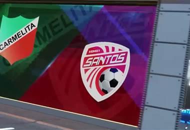Fútbol Nacional: Carmelita 0 - 3 Santos