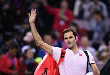 Roger Federer, tenista suizo.|AFP