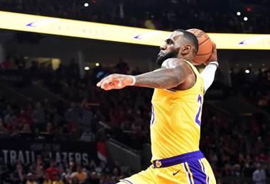 Lebron James, jugador de Los Ángeles Lakers |AFP.