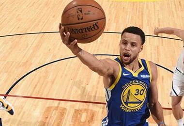 Stephen Curry, jugador de los Warriors.|Golden State Warriors