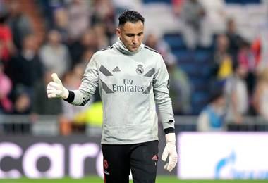 El portero costarricense del Real Madrid, Keylor Navas |UEFA Champions League.