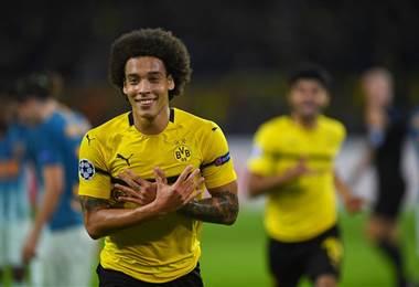 El volante belga del Borussia Dortmund, Axel Witsel |Facebook UEFA Champions League.