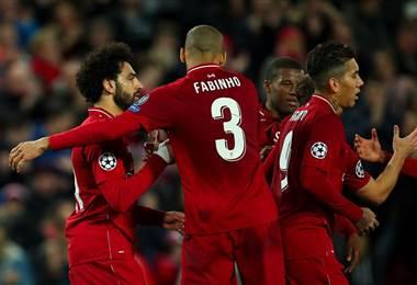 El Liverpool triunfó nuevamente. Facebook UCL