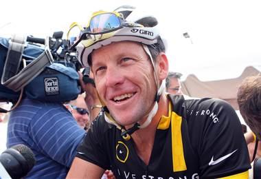 Lance Armstrong, exciclista estadounidense.|Ruta de los Conquistadores