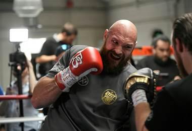 Boxeador británico, Tyson Fury.|AFP
