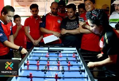 Costa Rica se proclamó campeón de la Copa América del popular futbolín
