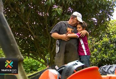 Chapeador de jardines que sufrió un infarto y su hijo tendrán una mejor calidad de vida