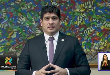 Carlos Alvarado realizó cadena nacional para insistir a docentes deponer huelga y regresar a clases