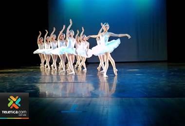 Ballet de Costa Rica se presentará por primera vez con reconocida obra 'El lago de los cisnes'