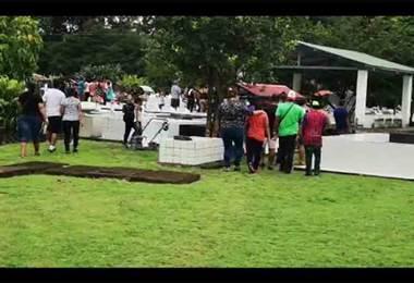 Pareja que murió en bar de Palmar Norte fue enterrada este lunes en Ciudad Cortés