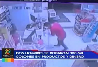 Hombres armados simularon ser repartidos de comida para asaltar una panadería