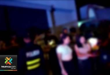 """Policía impidió que se realizara otra """"megafiesta"""" colegial en Alajuela"""