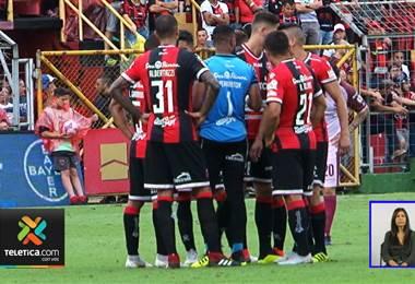Alajuelense enfrentará a Herediano sin Jonathan McDonald y Maalique Foster
