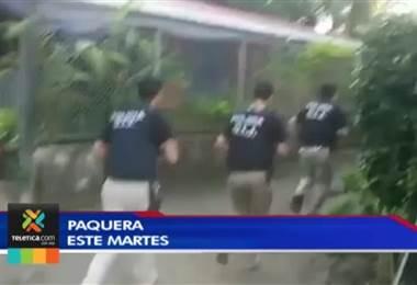 Agentes judiciales detuvieron en Paquera a un sospechoso de venta de droga