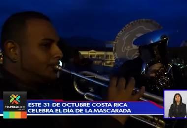 Este 31 de octubre Costa Rica celebra el Día de la Mascarada