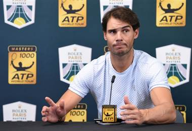 Rafa Nadal. AFP