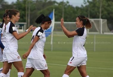 La Selección Femenina de Costa Rica| Facebook Fedefútbol.