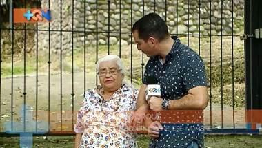 Doña Emilce tiene 88 años, es vecina de Bebedero de Escazú. Ella es una de las abuelitas más coquetas y simpáticas de la zona, pero también guarda en su corazón un hermoso recuerdo, la casita de adobe dónde vivió durante muchos años y por eso nos llevó a conocerla.