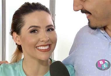 """Keyla Sánchez se refirió al apoyo del papá de su hijo en """"Dancing"""""""