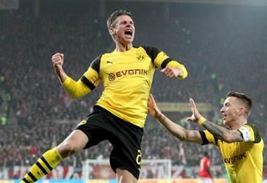Borussia Dortmund sigue ganando. AFP