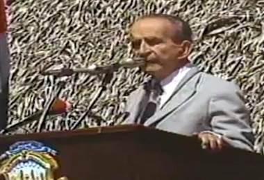 El expresidente de Costa Rica, José Figueres Ferrer.