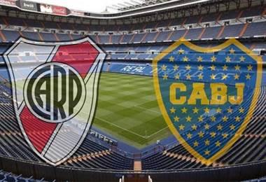 River Plate y Boca Juniors disputarán la final de Libertadores en el Bernabéu.