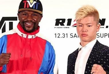 Floyd Mayweather y el japonés Tenshin Nasukawa.