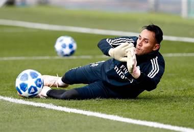 El portero costarricense del Real Madrid, Keylor Navas.